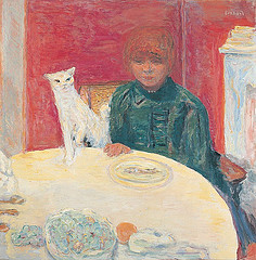 Bonnard, Femme au Chat